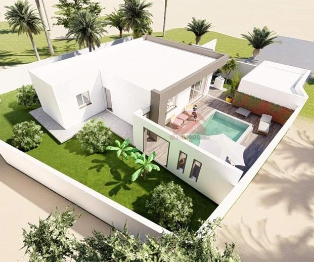 Projet de villa avec piscine - Réf V505