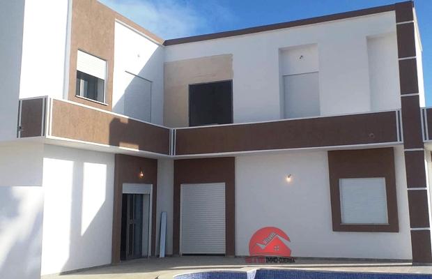 Vente villa neuve avec piscine privée - Réf V509