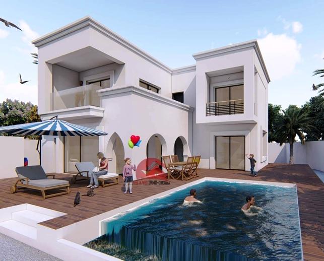 Vente villa avec piscine en ZT Midoun - V512