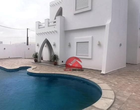 Vente villa neuve à Midoun - Réf V516