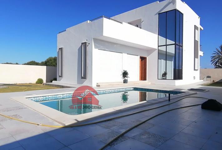 villa avec piscine à Aghir Djerba - Réf L612