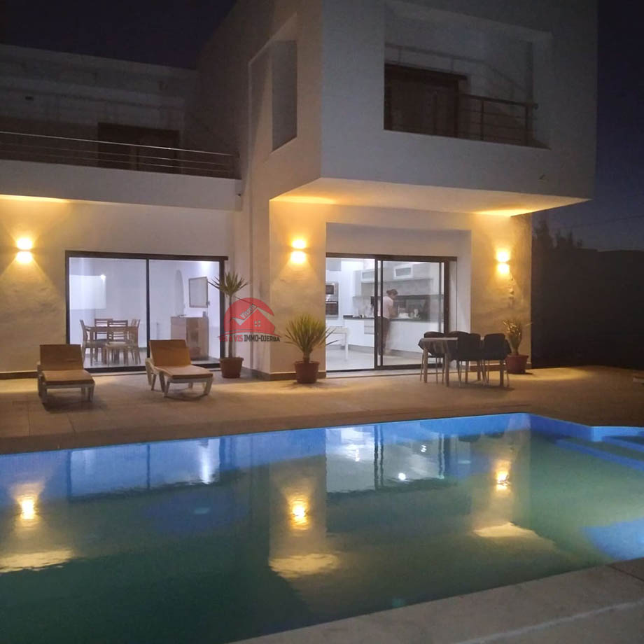 Belle villa de vacances à Djerba - Réf L615