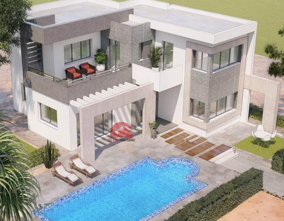 Vente villa avec piscine à Tezdaine - Réf V523