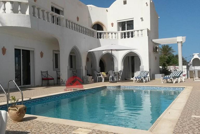 Villa de vacances à Djerba Aghir - Réf L617