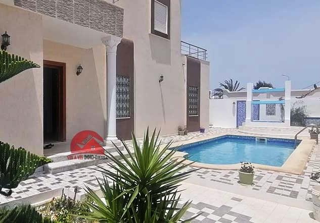Villa de vacances avec piscine à Midoun - Réf L620