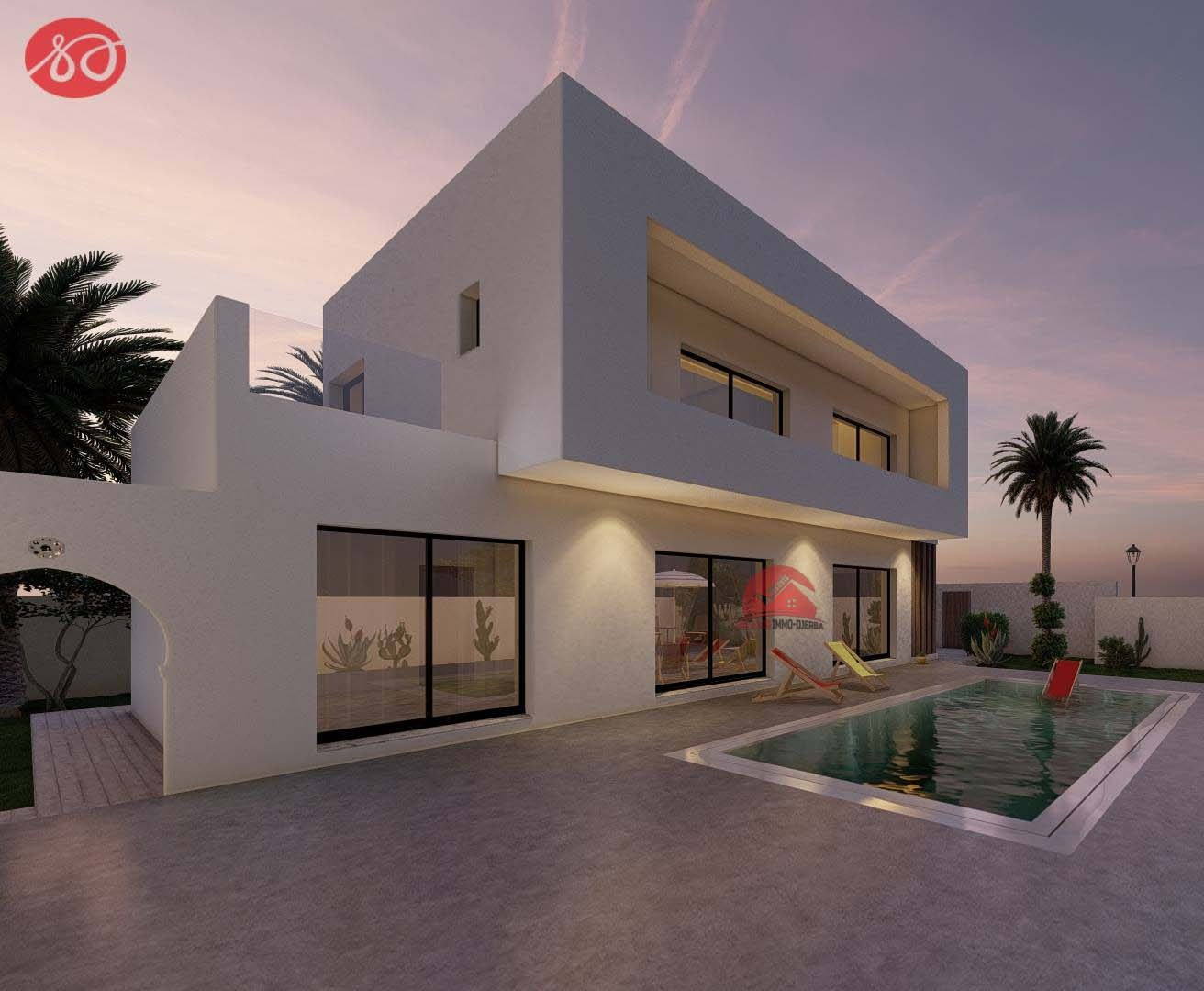 Immobilier neuf à Djerba proche plage - Réf P 530