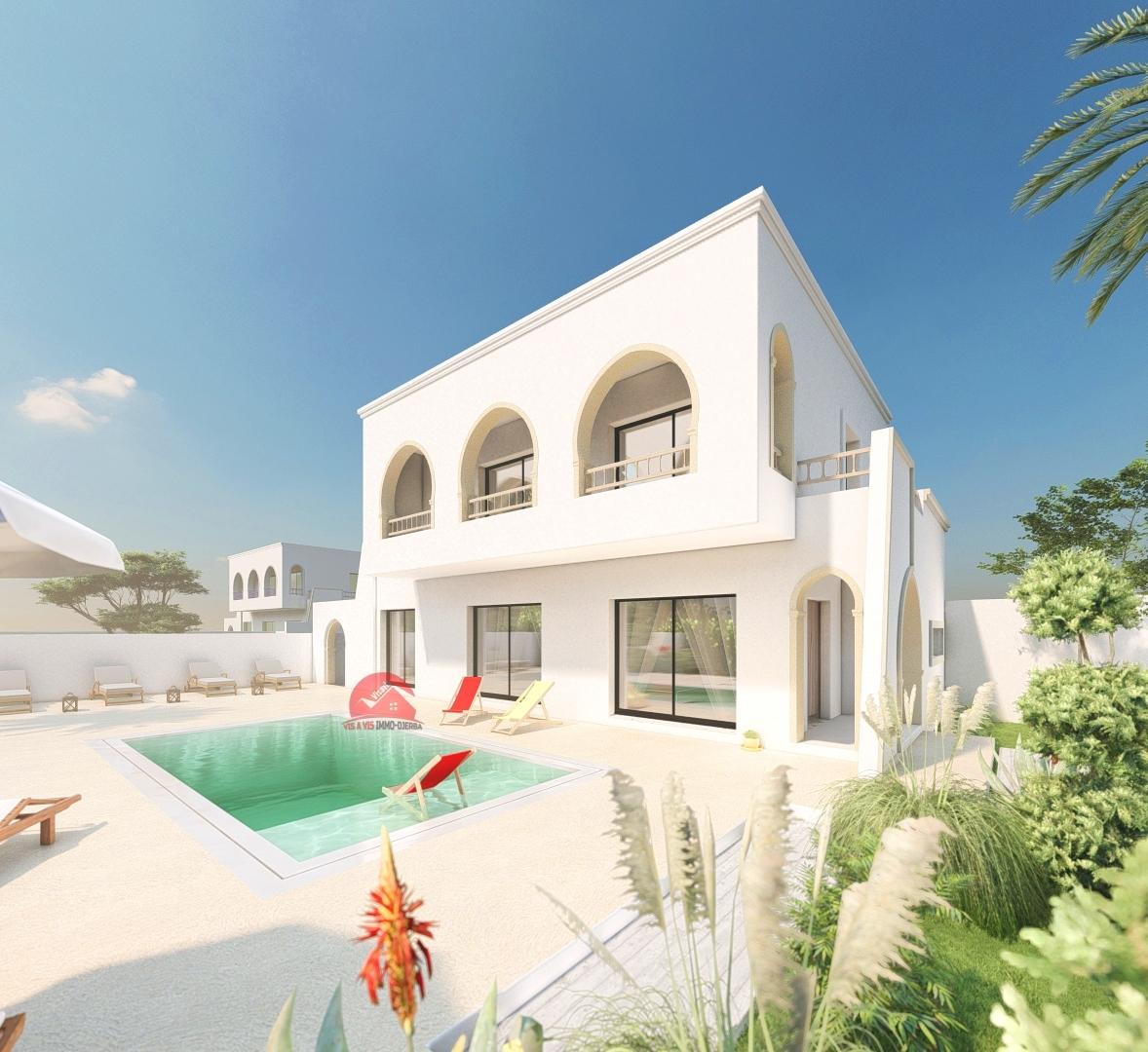 Projet de villa à 10mn de la plage - Réf P547