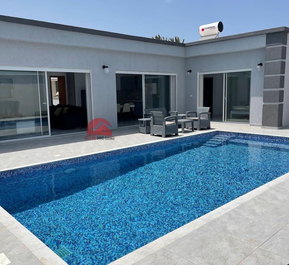 Vente maison plain-pied neuve à Midoun Djerba - Réf V550